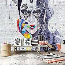 Papel Wandbilder 3D Moderne 3D Graffiti Tapete