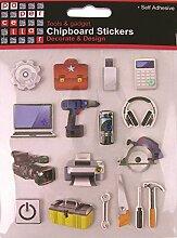 Paper Cellar Werkzeuge und gadgets Spanplatten und Dekoration, Design, mehrfarbig