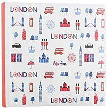 Paperchase London Medium Einsteckalbum Fotoalbum