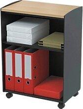 PAPERFLOW   Bürowagen schwarz