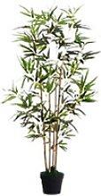 Paperflow Künstliche Pflanze Bambus Grün 190 x