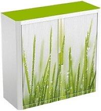 PAPERFLOW   Rollladenschrank Gras keine Fachböden
