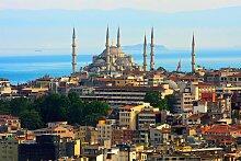 Papermoon Fototapete Istanbul Skyline B/L: 3 m x