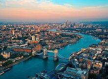 Papermoon Fototapete London Skyline B/L: 2 m x