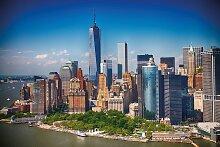 Papermoon Fototapete Lower Manhattan Skyline B/L:
