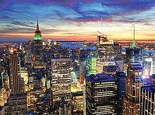 Papermoon Fototapete New York at Dusk B/L: 2 m x