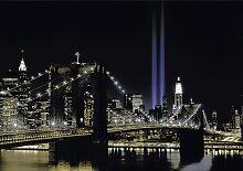 Papermoon Fototapete New York by night B/L: 2,5 m