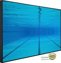 Papermoon Infrarotheizung Schwimmbecken, sehr