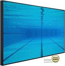 Papermoon Infrarotwandheizung Schwimmbecken, sehr