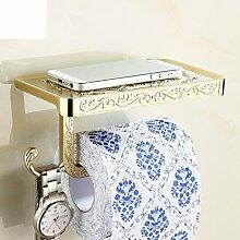 Papier Handtuchhalter Mit Einer Modele Antike,Wc-papierhalter,Multifunktionale Handtuchhalter,Toilettenpapierhalter,Toilettenpapier-regal,Tissue Box,Aufnahmeschale-B