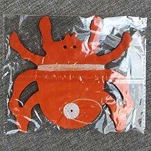 Papier Skelett Ghost Spider Kürbis geformte