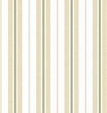 Papier Tapete gerillt Enge beige und grün auf
