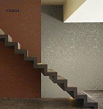 Papier-Tapete TNT rot, bordeaux, ziegelrot mit glitteratura goldfarben. Größe Rolle 10m x 0,53cm. Arezzo h30604