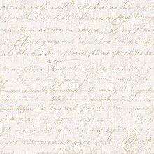 Papier-Tapete Vintage mit Textur Effekt Stoff