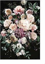 Papierbild Charmanter Blumenstrauß Komar