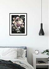 Papierbild Charmanter Blumenstrauß