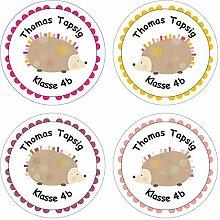 Papierdrachen 24 individuelle Aufkleber für