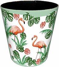 Papierkorb Büro, Vicoki Papierkorb Bunt Flamingo
