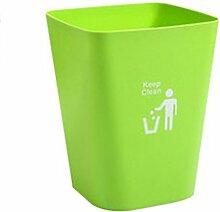 Papierkorb, FOKOM Klassisch Abfalleimer Mülleimer Papierkorb ohne Deckel