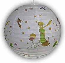 Papierlampe fürs Kinderzimmer - Lampenschirm DER
