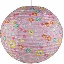 Papierlampe fürs Kinderzimmer - Lampenschirm mit