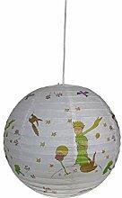 Papierlampe fürs Kinderzimmer mit dimmbare LED -