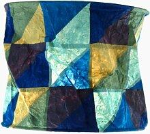Papierlampenschirm - Annapurna icemint / Patchwork Papierlampenschirme