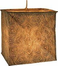Papierlampenschirm Annapurna square-1 / Papierlampenschirme zylindrisch
