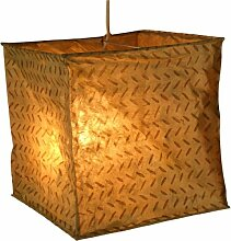 Papierlampenschirm Annapurna square-2 / Papierlampenschirme zylindrisch