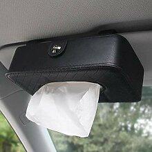 Papiertaschentuchbox Hängende Sonnenblende auf