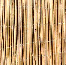 6 99 papillon bambusmatte vollrohr natur 200cm x 400cm