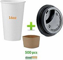 Pappbecher für Heißgetränke   Kaffeebecher mit