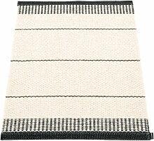 Pappelina - Belle Teppich, 60 x 85 cm, schwarz