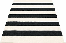 Pappelina - Bob Teppich, 140 x 220 cm, black /