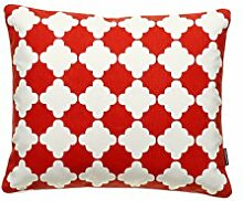 pappelina MARRE Kissen Coral Red 40x50 cm