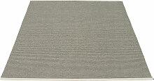Pappelina - Mono Teppich, 180 x 220 cm, charcoal /