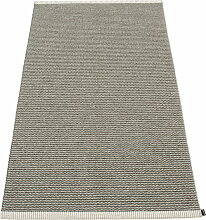 Pappelina - Mono Teppich, 60 x 150 cm, charcoal /
