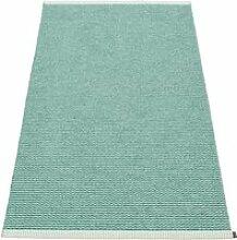 Pappelina - Mono Teppich, 60 x 150 cm, jade / pale