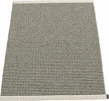 Pappelina - Mono Teppich, 60 x 85 cm, charcoal /