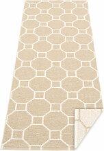 Pappelina - Rakel Wendeteppich, 70 x 225 cm, beige