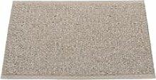 Pappelina - Svea Teppich, 70 x 50 cm, mud metallic