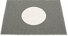 pappelina VERA SMALL ONE Teppich Charcoal / Vanila