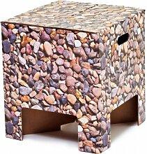 Papphocker pebbles