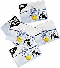 PAPSTAR 97200 Erfrischungstücher Citro, 14 x 14