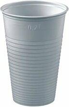 Papstar Einweggeschirr Trinkbecher 0,2l 3000 St. Plastik 12156