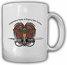Papua Neuguinea Wappen Emblem Kaffee Becher Tasse #13856