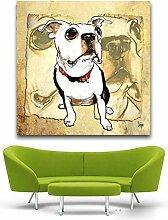 Papyrus Boston Terrier Pop Art Dekorative