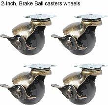 paracity 4Ball Caster Rad 360° drehbar Teller