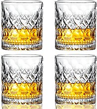 PARACITY Old Fashioned Whiskey Gläser, Crystal
