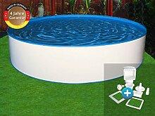 Paradies Pool GmbH Trend Stahlwandbecken Einzelbecken Rundform 4,00 x 1,20 m